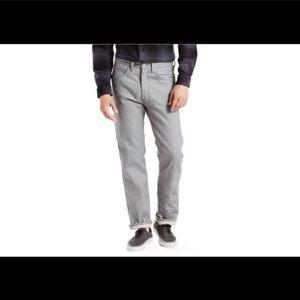 Mens Levi's 501 Original Shrink-To-Fit Jeans